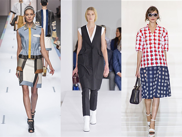 Milan Fashion Week Spring 2013 Hits - Fendi, Jil Sander, Marni