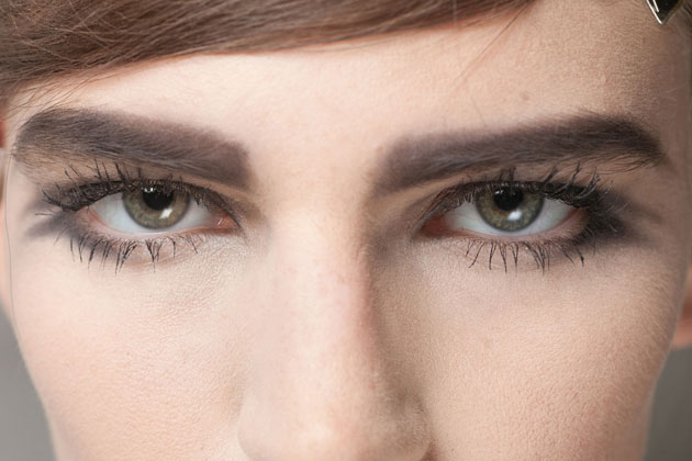 the eyes at Marc Jacobs Spring 2013 show
