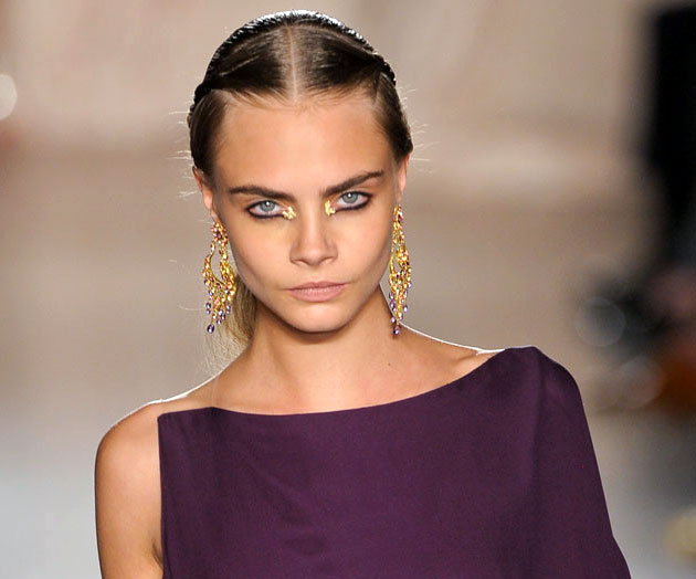 Marchesa beauty look Spring 2013