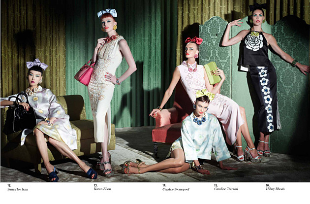 Miu Miu Resort 2013 photographed by Steven Meisel