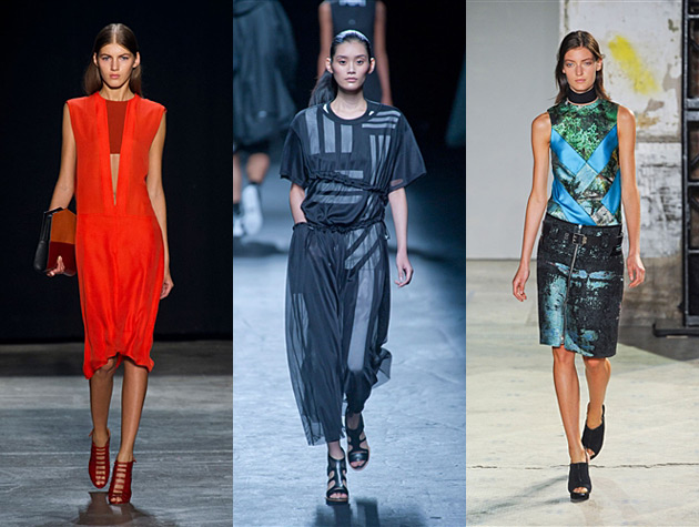 NYFW SS 13 Hits - Narciso Rodriguez, Y-3, Proenza Schouler