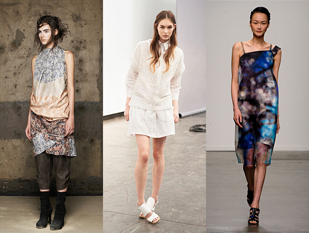 NYFW Spring 2013 Hits - Gary Graham, Thakoon Addition, Rachel Comey