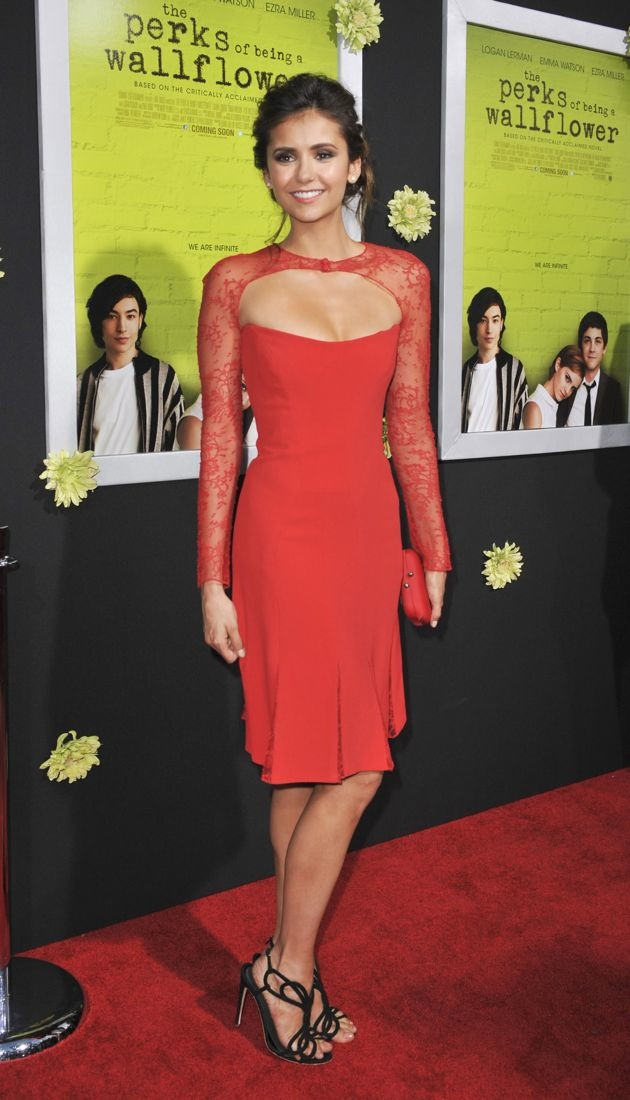 Nina Dobrev Los Angeles Premiere of The Perks of Being a Wallflower