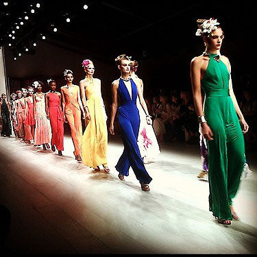 bright dresses, Issa Spring 2013