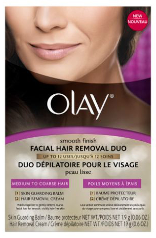 We Tried It: Olay Smooth Finish Facial Hair Removal Duo for Medium to Coarse Hair