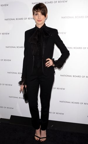 Anne Hathaway 2013 National Board of Review Awards Gala New York City Jan 2013