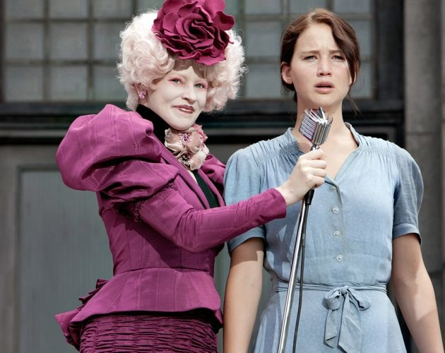 Elizabeth Banks Jennifer Lawrence The Hunger Games ed
