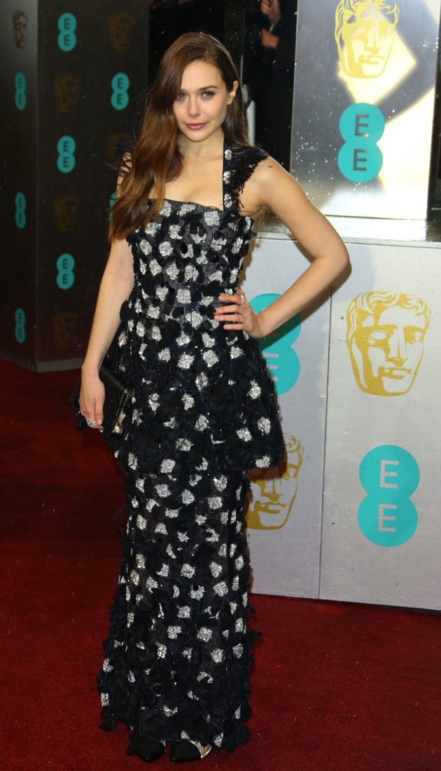 Elizabeth Olsen 2013 BAFTA Awards London