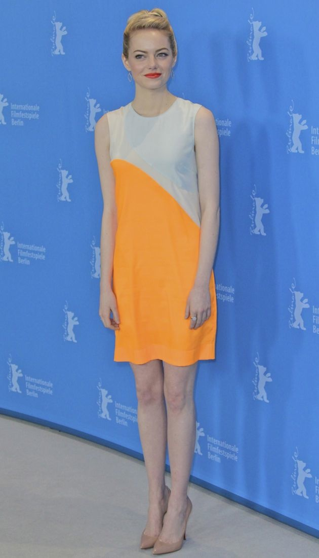 Emma Stone 63rd Berlin International Film Festival photocall The Croods