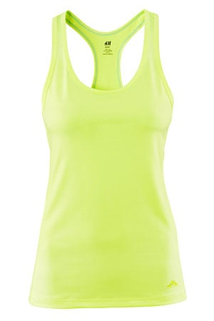 H&M athletic top in yellow - forum buys