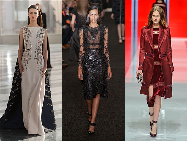 LFW Fall 2013 HIts - Antonio Berardi, Erdem, Christopher Kane
