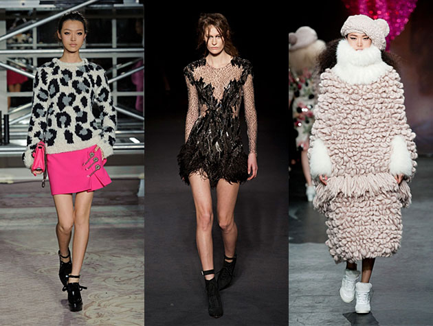 London Fashion Week Fall 2013 MIsses: Moschino Cheap & Chic, Julien Macdonald, Sister by Sibling