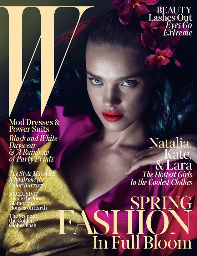 W March 2013 - Natalia Vodianova photographed by Mert & Marcus