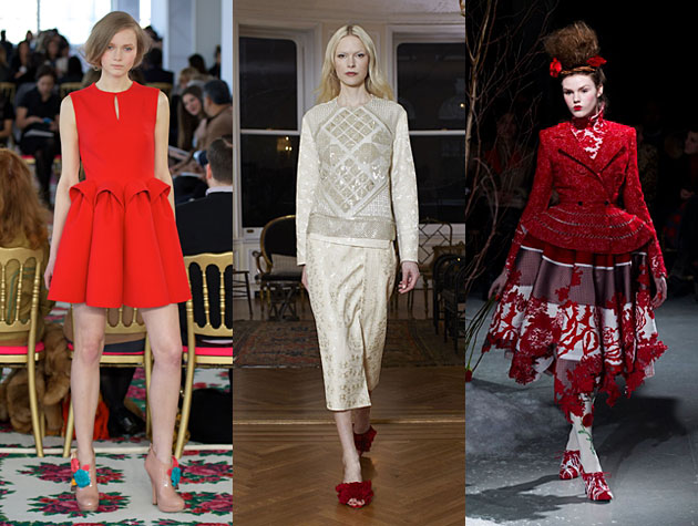 NYFW Fall 2013 Hits - Delpozo, The Row, Thom Browne