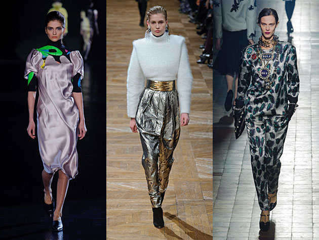 Paris Fashion Week Fall 2013 Misses: Mugler, Balmain, Lanvin