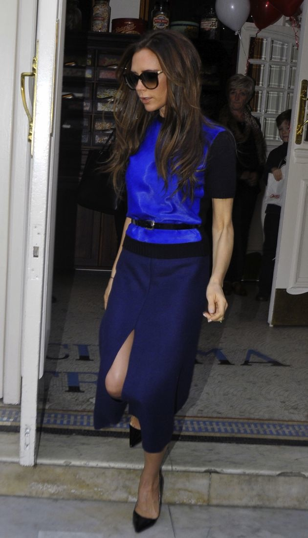 Victoria Beckham visiting Electric Cinema Notting Hill London
