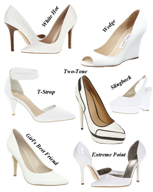 The Front Row Trend You Didn&39t See Coming: White Pumps