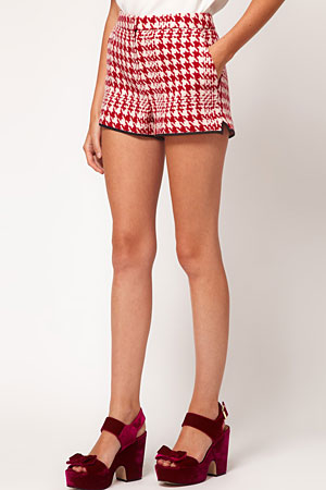 ASOS houndstooth shorts - forum buys