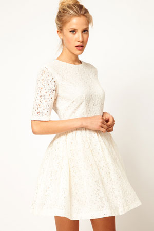 ASOS skater dress in lace - forum buys