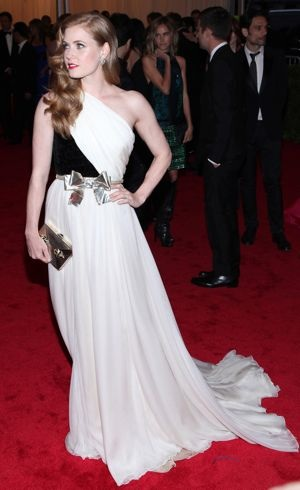 Amy Adams 2012 Met Gala New York City May 2012