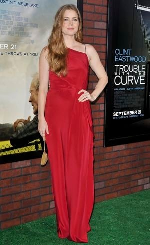 Amy Adams world premiere of Trouble With The Curve Westwood Sept 2012