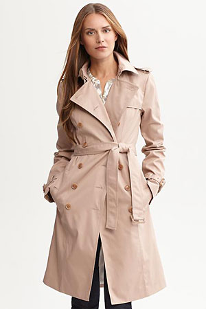 Banana Republic Trench - forum buys