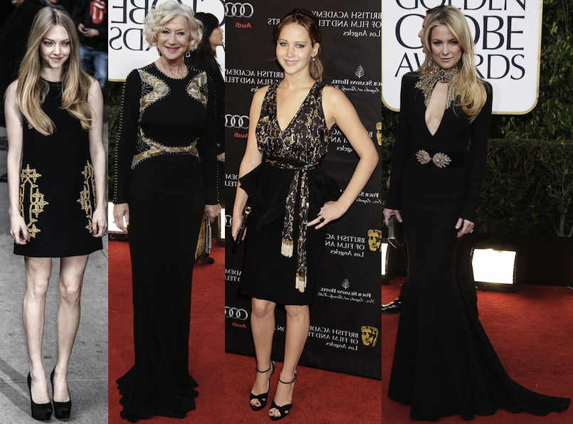 Wear This Celebrity Trend Now  Black and Gold - theFashionSpot ecdd3ca93
