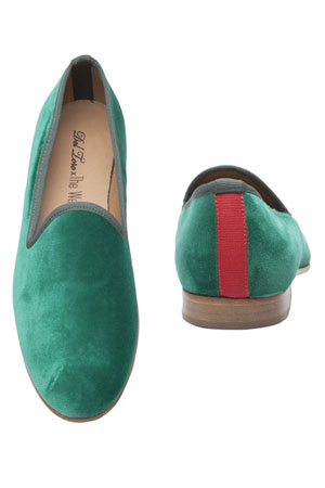 Del Toro x The Webster green loafers - forum buys