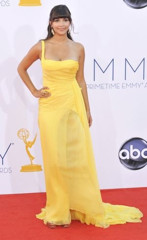 Hannah Simone 64th Annual Primetime Emmy Awards Los Angeles Sept 2012