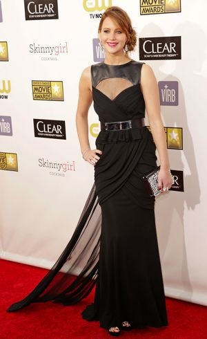 Jennifer Lawrence 18th Annual Critics Choice Awards Jan 2013