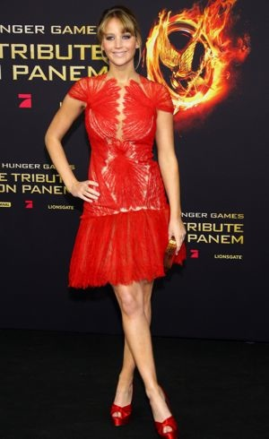 Jennifer Lawrence The Hunger Games Berlin Premiere March 2012