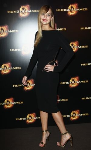Jennifer Lawrence Paris Premiere The Hunger Games March 2012