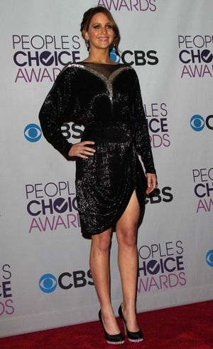 Jennifer Lawrence Peoples Choice Awards 2013 Jan 2013