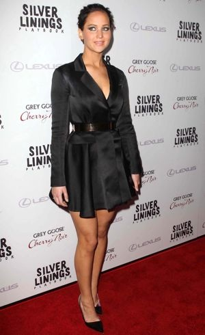 Jennifer Lawrence Silver Linings Playbook Los Angeles Premiere Nov 2012