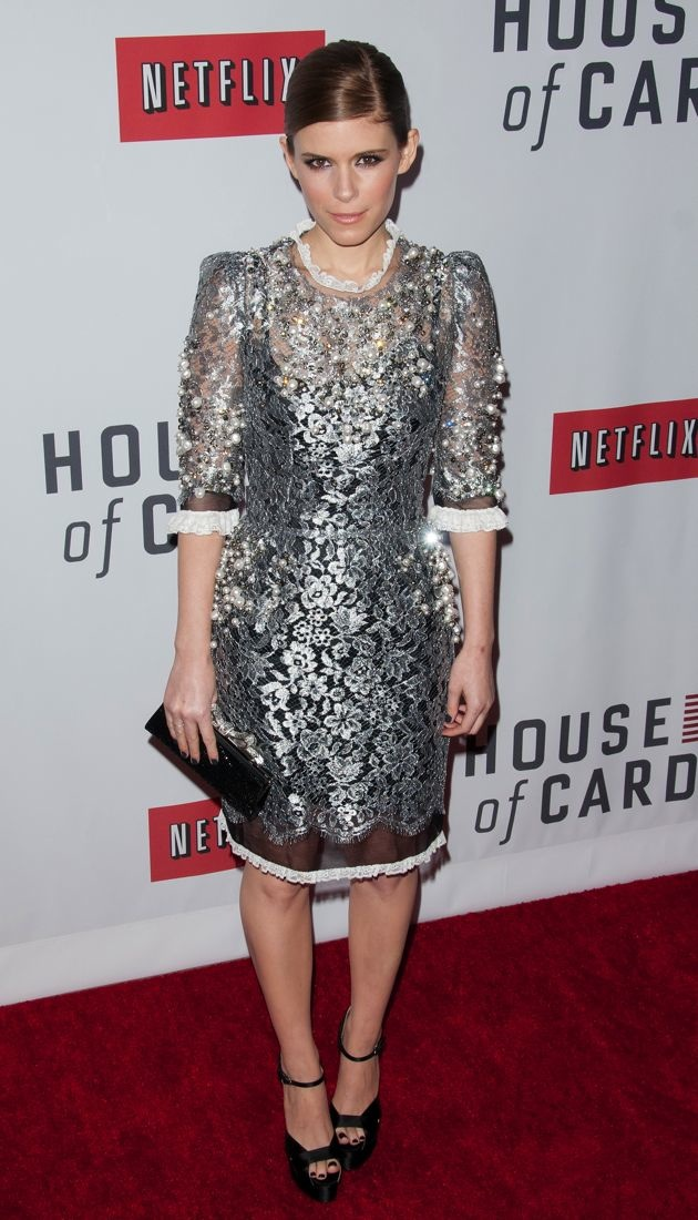 Kate Mara New York Premiere of House of Cards
