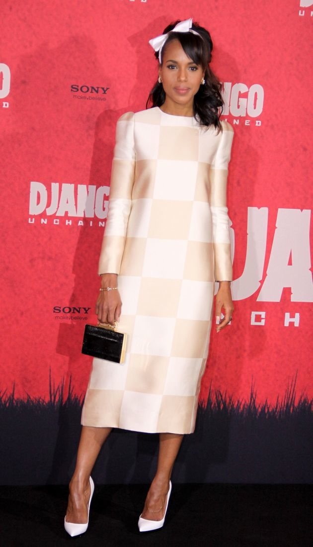 Kerry Washington Berlin Photocall Django Unchained