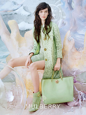 Mulberry Spring 2013 ad campaign - Meghan Collison photographed by Tim Walker