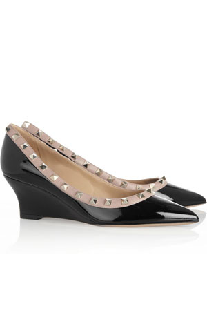 Valentino studded wedges - forum buys