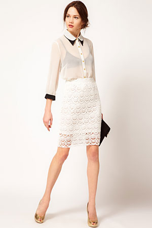 Vero Moda lace skirt - forum buys