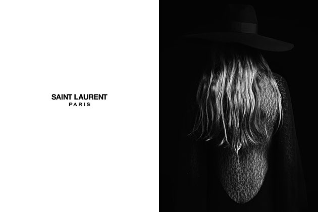 Saint Laurent Paris Spring 2013 photographed and styled by Hedi Slimane