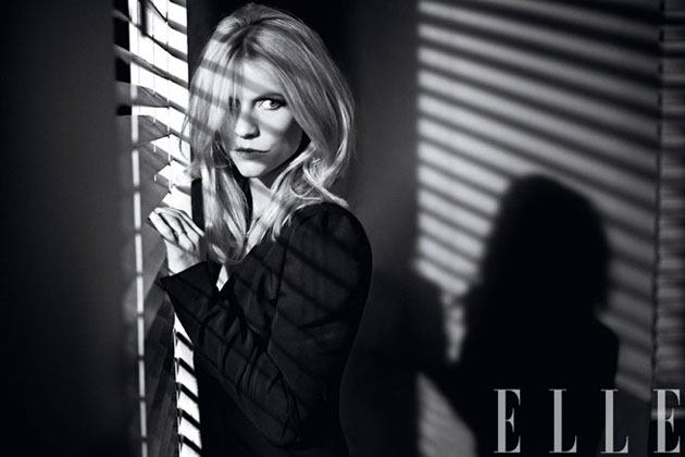 Elle February 2013 - Claire Danes photographed by Carter Smith
