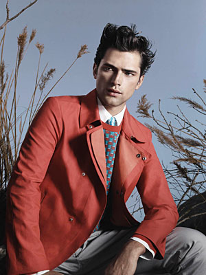 Salvatore Ferragamo Spring 2013 - Sean O'Pry photographed by David Sims