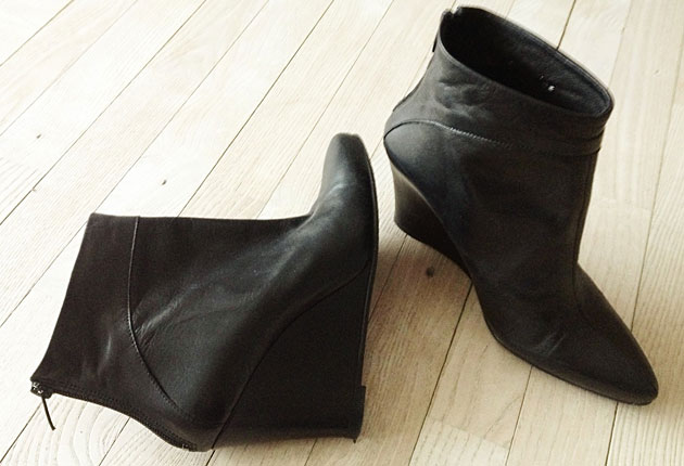 Bianco leather boots - forum buys