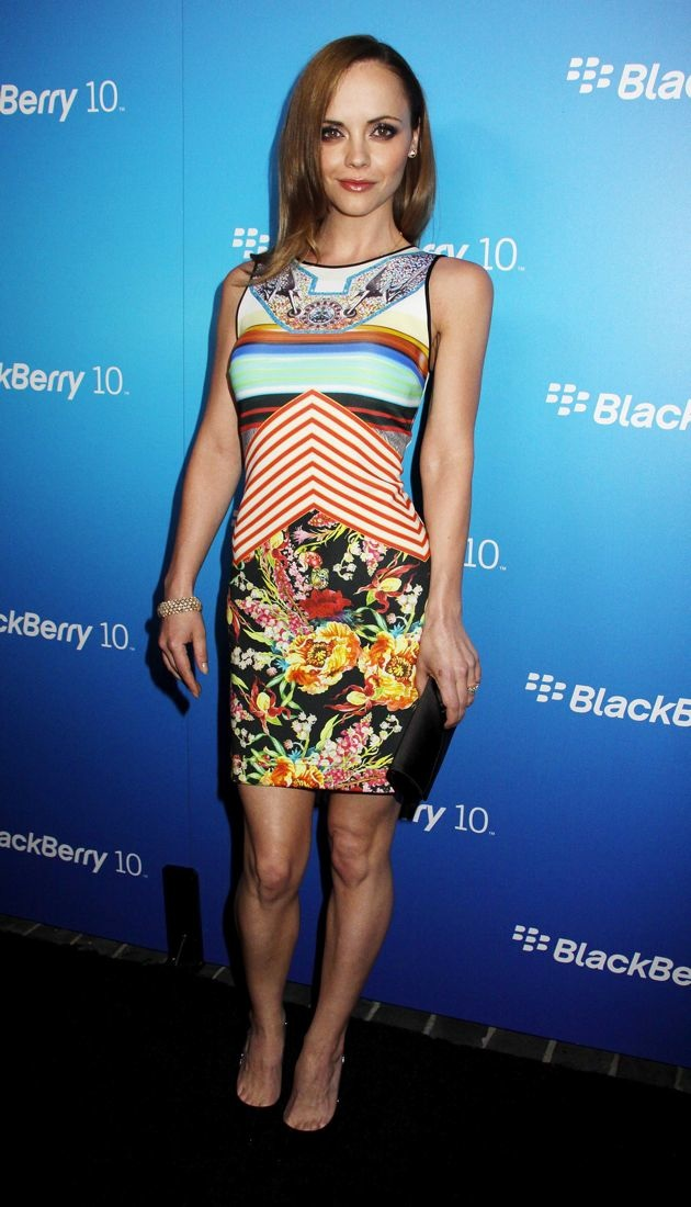 Christina Ricci The US launch of the new BlackBerry Z10 Los Angeles
