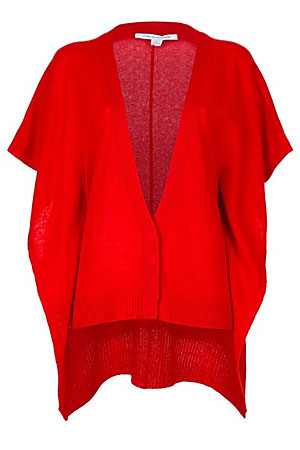 DVF red cardigan - forum buys