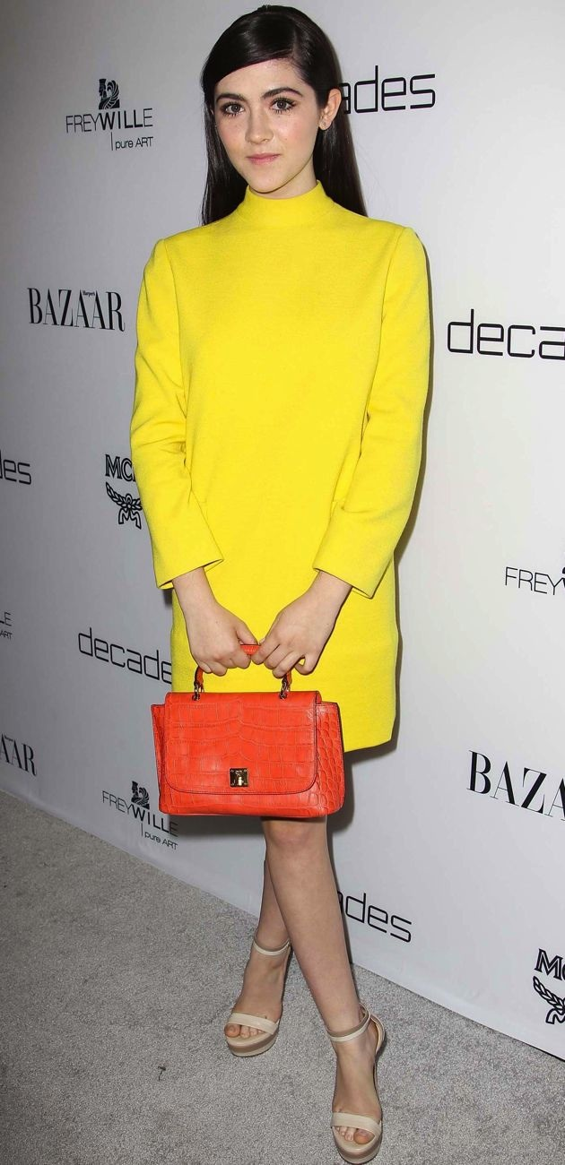 Isabelle Fuhrman Harpers Bazaar Celebrates the Launch of Bravo Dukes of Melrose West Hollywood
