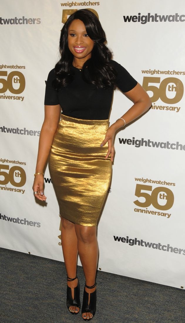 Jennifer Hudson Weight Watchers 50th anniversary celebration New York City