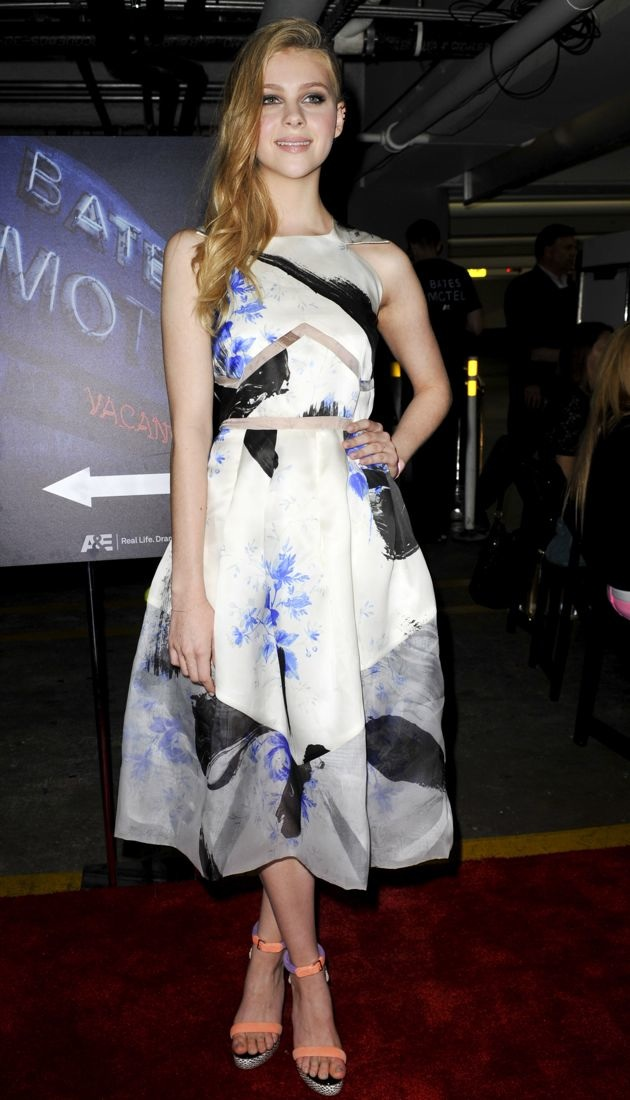 Look Of The Day Nicola Peltz Pairs Christopher Kanes