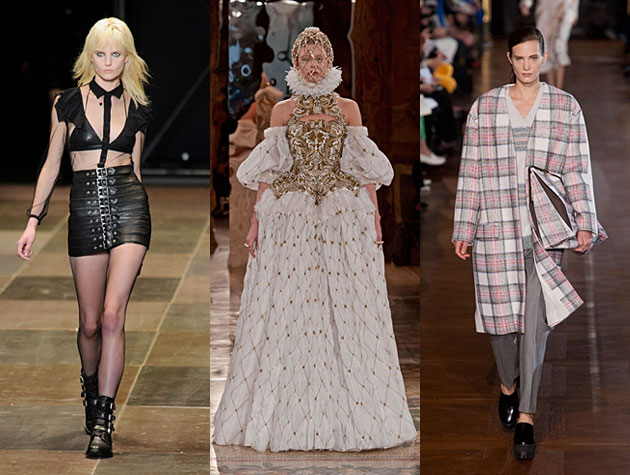PFW Fall 2013 Misses: Saint Laurent, Alexander McQueen, Stella McCartney