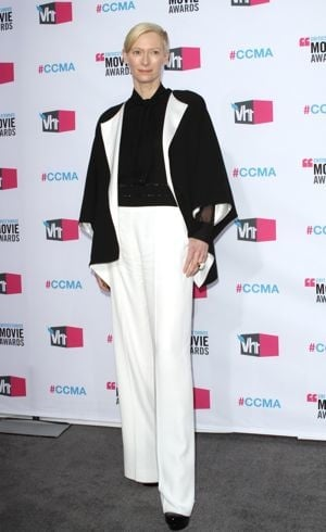 Tilda Swinton 17th Annual Critics Choice Movie Awards Los Angeles Jan 2012